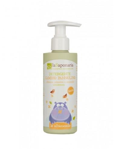 Detergente cambio pannolino   La Saponaria   Wingsbeat