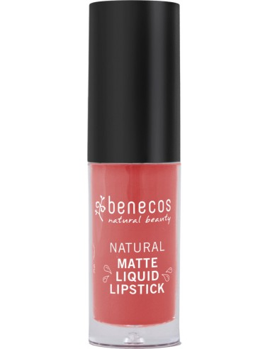 Rossetto liquido Coral Kiss|Benecos|Wingsbeat