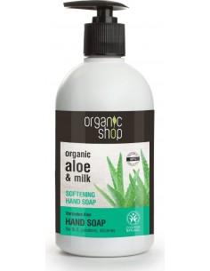 Sapone Liquido Mani Idratante Aloe e Latte