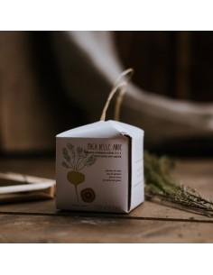 Maca delle Ande shampoo e balsamo solido 2 in 1 rinforzante anti-caduta