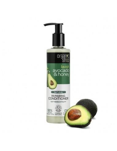 Balsamo ristrutturante Avocado e Miele Organic Shop Wingsbeat