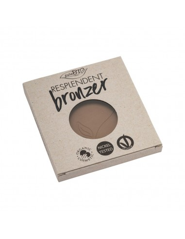 Terra Resplendent Bronzer Refill 01 Marrone Pallido|PuroBio|Wingbseat