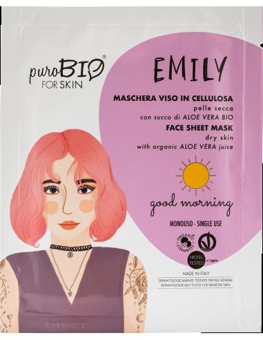 EMILY maschera viso pelle secca|Purobio|Wingsbeat