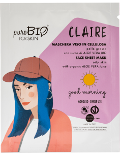 CLAIRE Maschera Viso Pelle Grassa Good Morning