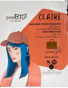CLAIRE Maschera Viso Pelle Grassa Career Girl
