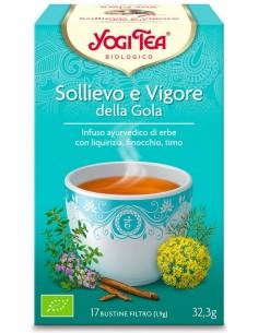 Tisana Yogi Tea Sollievo E Vigore Della Gola