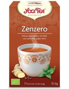 Tisana Yogi Tea Zenzero