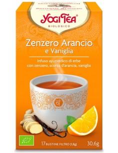 Tisana Yogi Tea Zenzero Arancio E Vaniglia