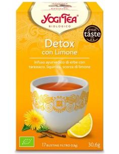 Tisana Yogi Tea Detox Con Limone