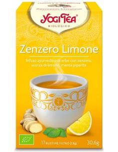 Tisana Yogi Tea Zenzero Limone