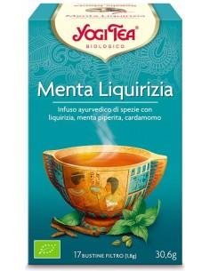 Tisana Yogi Tea Liquirizia E Menta