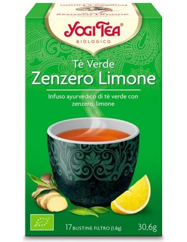 Tisana Yogi Tea Tè Verde Zenzero/Limone Wingsbeat