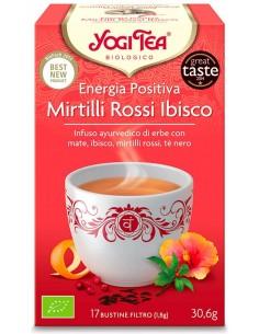 Tisana Yogi Tea Energia Positiva
