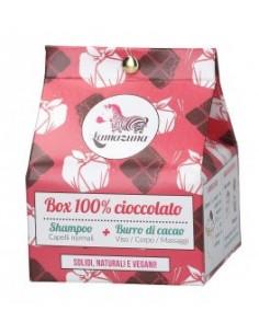 Scatola 100% Al Cioccolato 96 gr