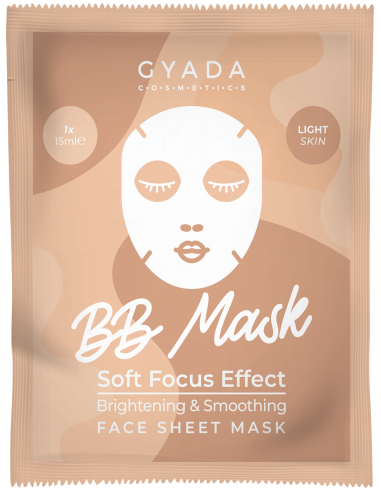 BB Mask Soft Focus Effect - Light Skin|Gyada Cosmetics|Wingsbeat