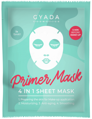 Primer Mask 4 in 1 Sheet Mask|Gyada Cosmetics|Wingsbeat