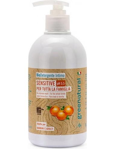 Sensitive - Bio Detergente Intimo per Tutta la Famiglia Green Natural Wingsbeat