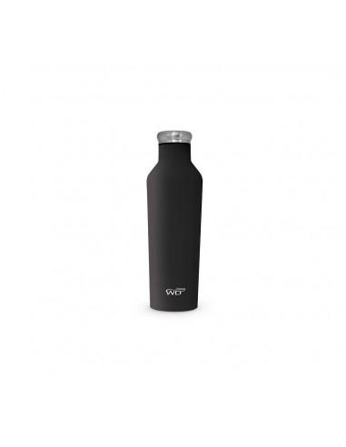 Bottiglia Termica Con Finitura Soft Touch Nero|WD Life Style|Wingsbeat