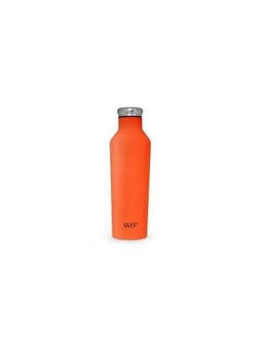 Bottiglia Termica Con Finitura Soft Touch Arancione|WD Life Style|Wingsbeat