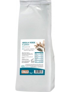 Argilla Verde Ventilata Essiccata 1 kg