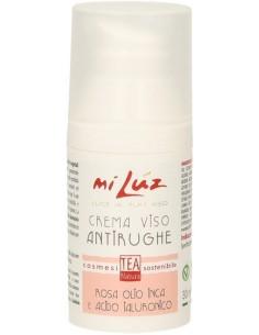 Crema Viso AntiRughe- Rosa Olio Inca e Acido Ialuronico