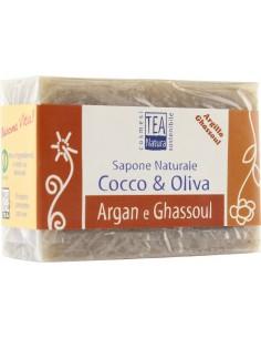 Sapone al Ghassoul e Argan- Adsorbente, levigante e nutritivo