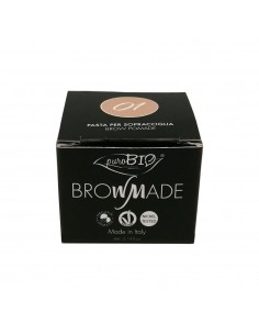 Brown made make-up per sopracciglia
