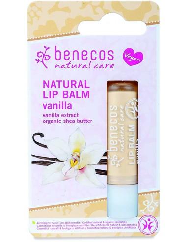 Balsamo Labbra Vaniglia|Benecos|Wingsbeat