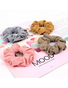 Scrunchie in cotone biologico