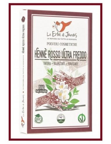 Henné Rosso Ultra Freddo Bio Le Erbe di Janas Wingsbeat