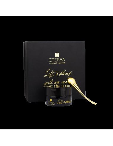 Lift & Plump Gold Eye Cream + Tool Eterea Wingsbeat