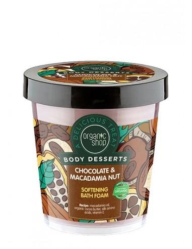 Bagnoschiuma Emolliente Al Cioccolato E Macadamia|Organic Shop|Wingsbeat