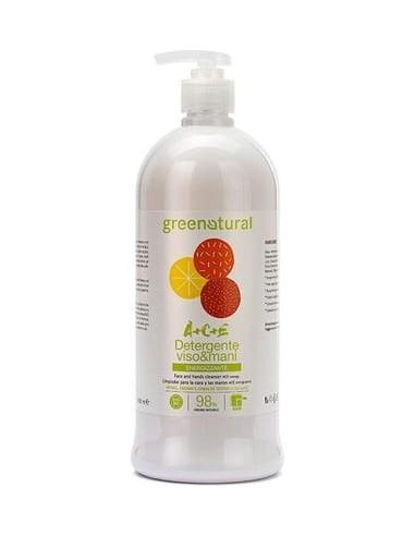 Detergente Mani Viso Multivitamine ACE 1 LT|Green Natural|Wingsbeat