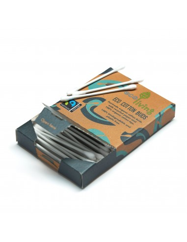 Organic Fairtrade Cotton Buds - Cotton fioc|ecoLiving|Wingsbeat