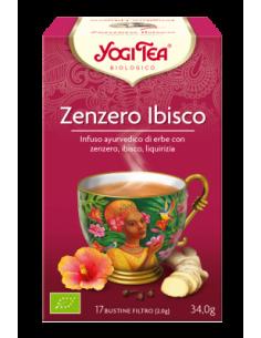 Tisana Yogi Tea Zenzero Ibisco