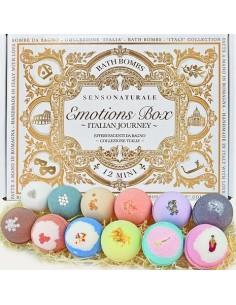 Emotion Box - Collezione Italia -12 Bombe Da Bagno Set Regalo