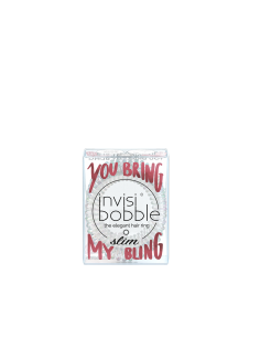 Invisibobble SlimSparks Flying YouBringmyBling