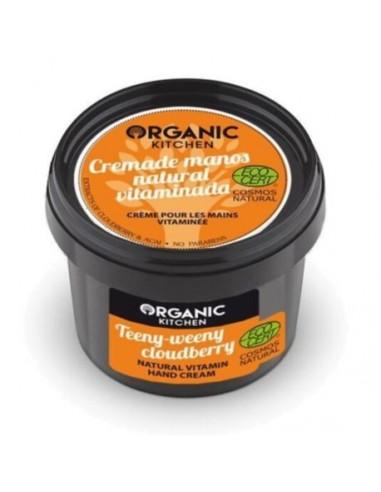Crema Mani Naturale Vitaminica Teeny-weeny Cloudberry 100 ml Organic Kitchen Wingsbeat