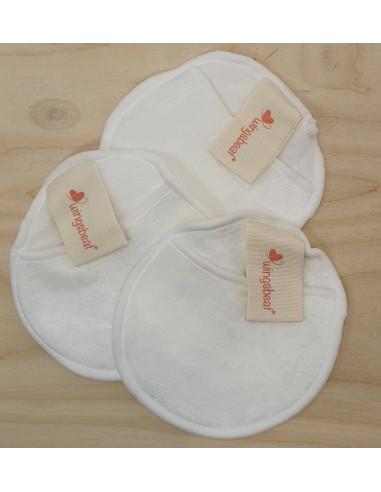 Tris skin care - 3 pad struccanti in bamboo|Wingsbeat