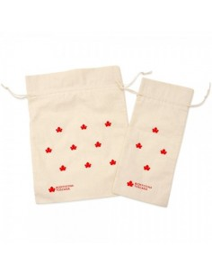 Sacchetto Cotone Grande - Rosso