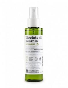 Idrolato di Geranio Bio 100 ml Con Spruzzino