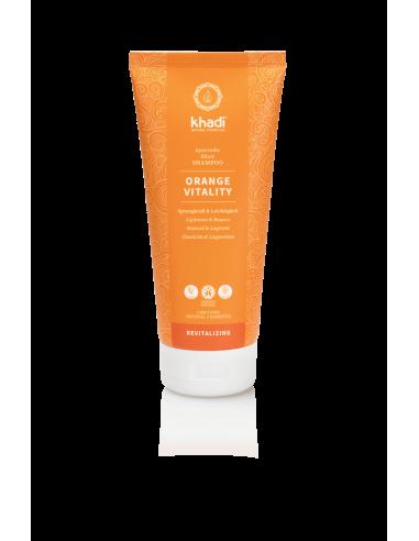Shampoo Elisir Ayurvedico Orange Vitality|Khadi|Wingsbeat