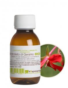 Idrolato di Geranio Bio 100 ml Senza Spruzzino