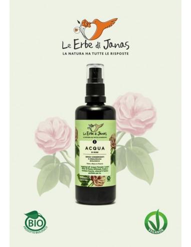 Acqua di Rose BIO 100 ml|Le Erbe di Janas |Wingsbeat