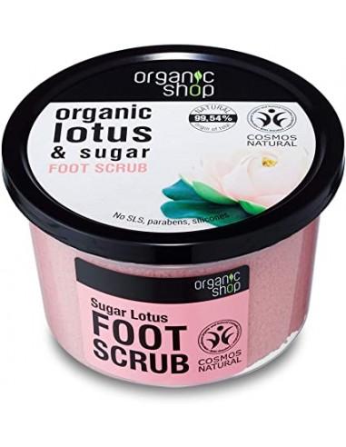 Scrub Piedi Esfoliante Loto E Zucchero   Organic Shop   Wingsbeat