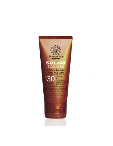 Crema Solare Antiage Viso SPF 30 | Domus Olea Toscana | Wingsbeat