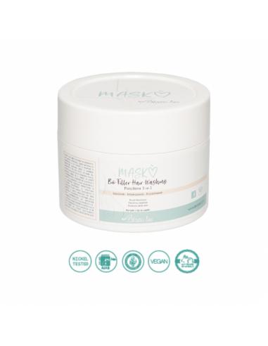 Maschera BioFiller all'acido ialuronico cheratina vegetale proteine della seta   Bisoubio   Wingsbeat