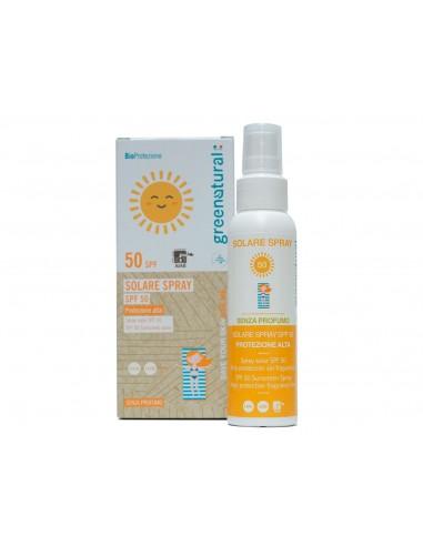 Solare Spray SPF 50   GreeNatural   Wingsbeat