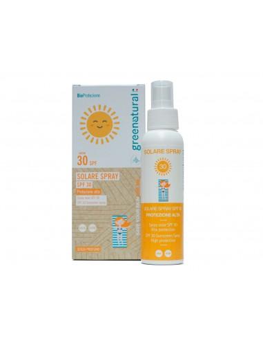 Spray Solare SPF 30   GreeNatural   Wingsbeat