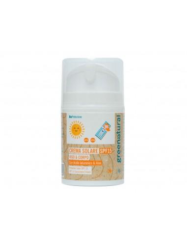 Crema Solare Viso SPF 15 | GreeNatural | Wingsbeat